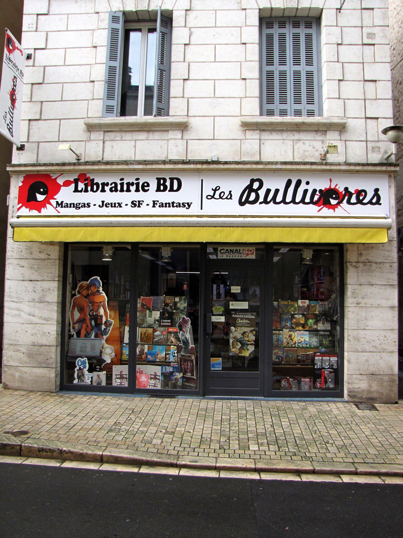 LIBRAIRIE LES BULLIVORES