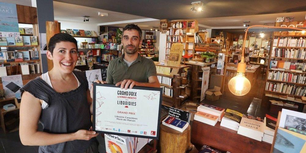 caracrères grand prix des librairies - crédit Pascal Bats : « Sud Ouest »