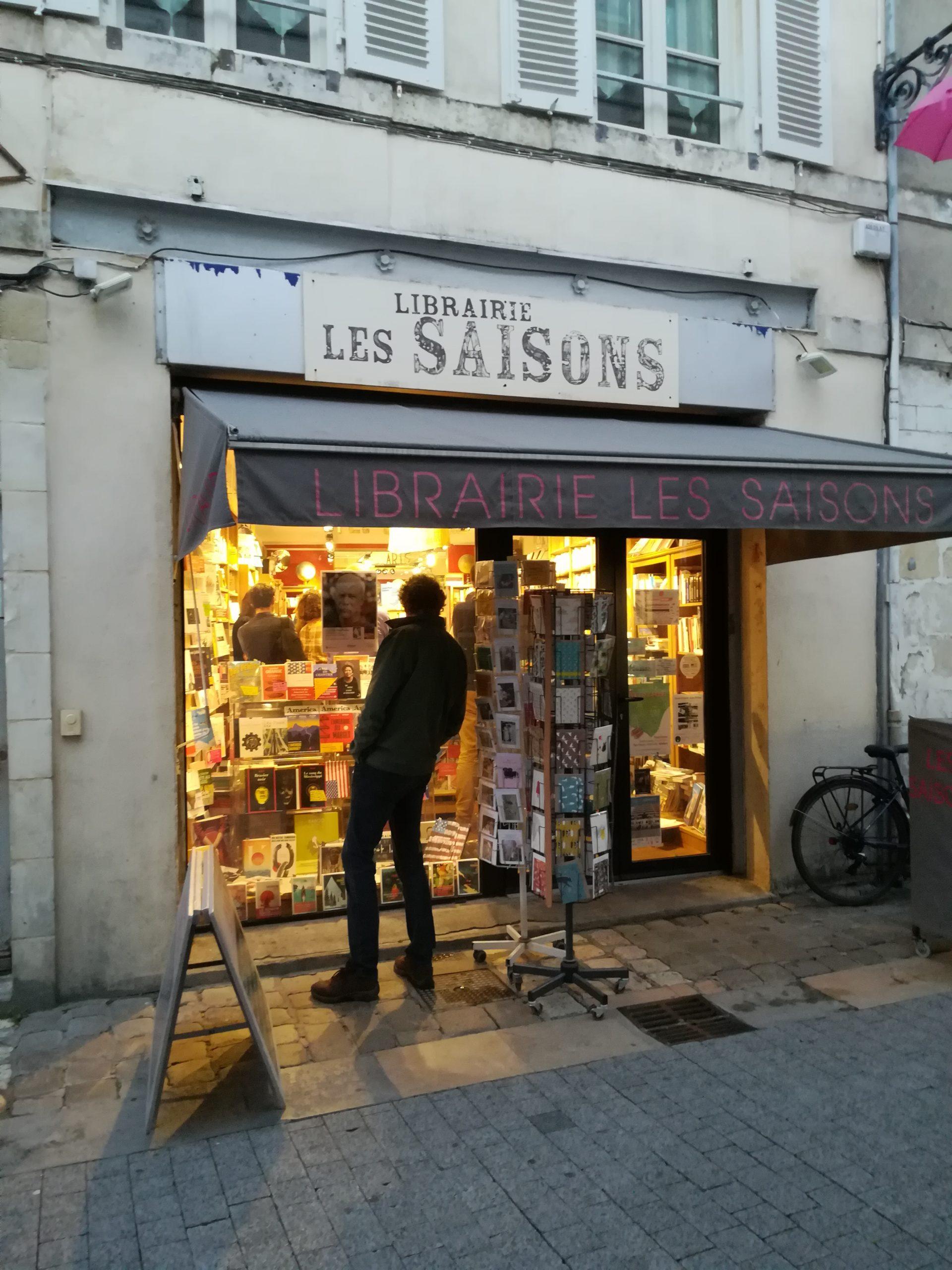 LIBRAIRIE LES SAISONS