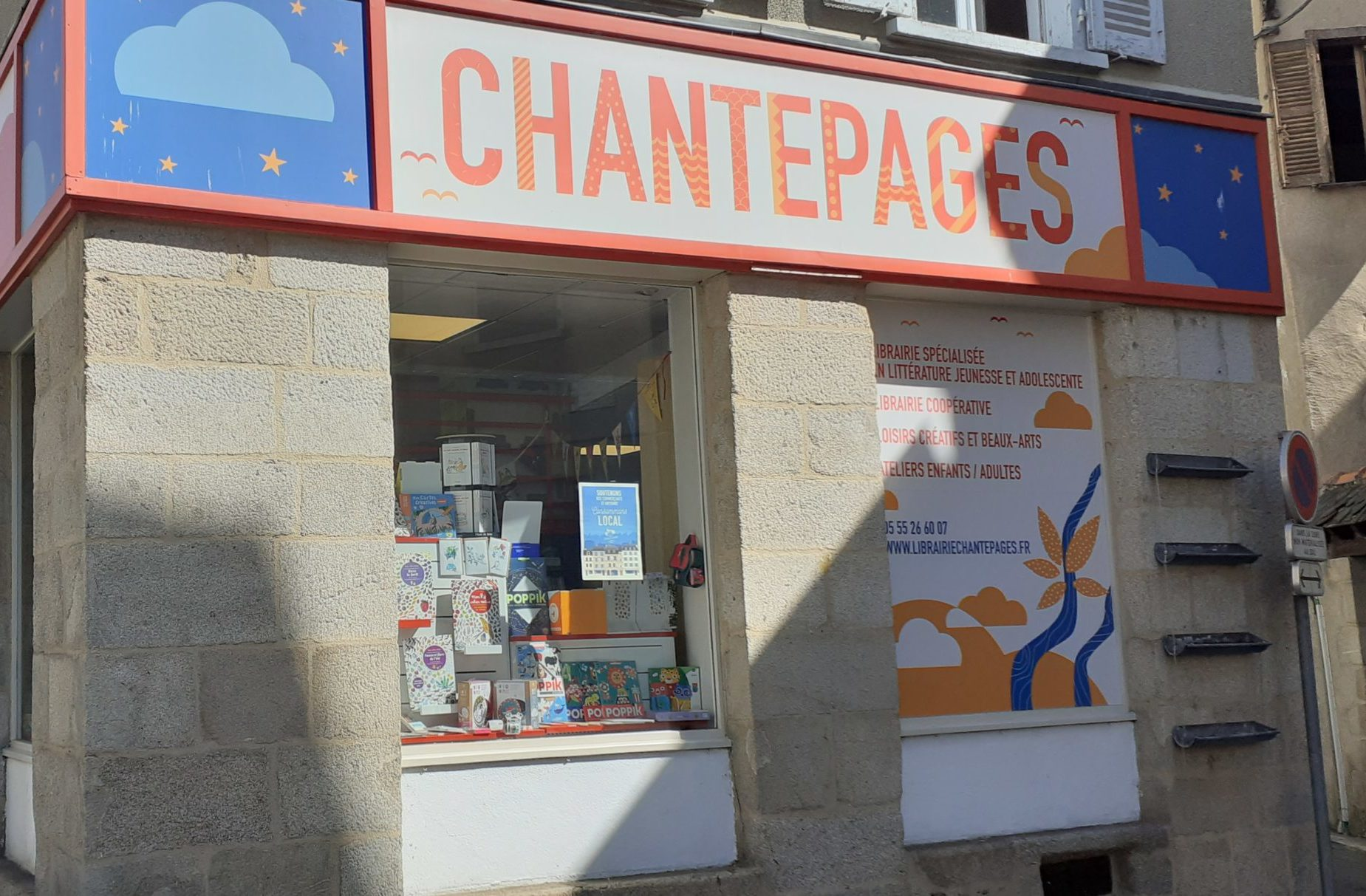 LIBRAIRIE CHANTEPAGES