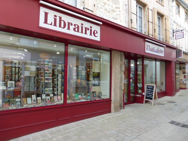 librairie l'antidote