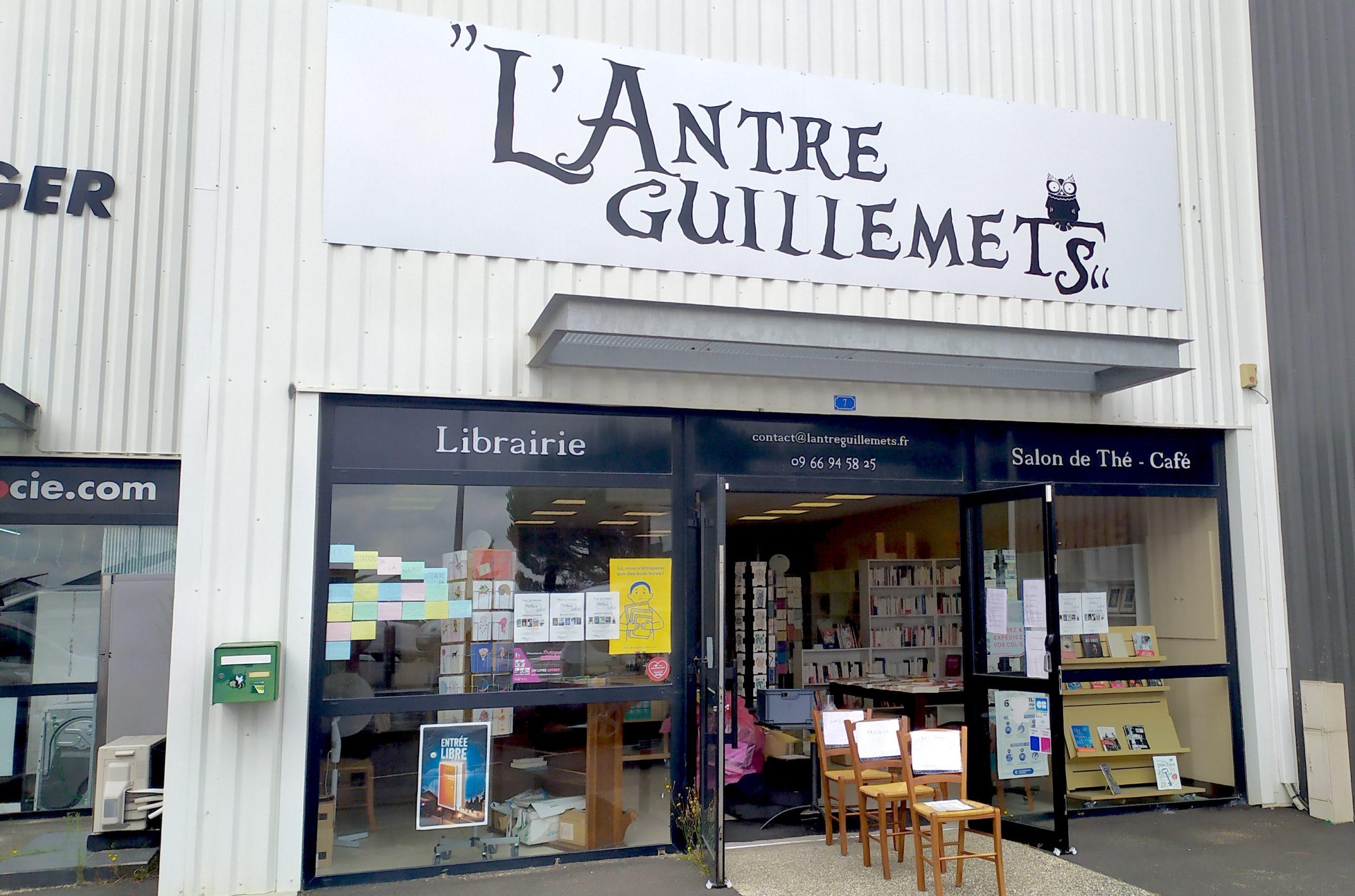 LIBRAIRIE L'ANTRE GUILLEMETS